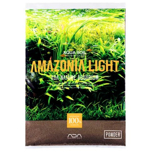 aqua soil powder amazonia light